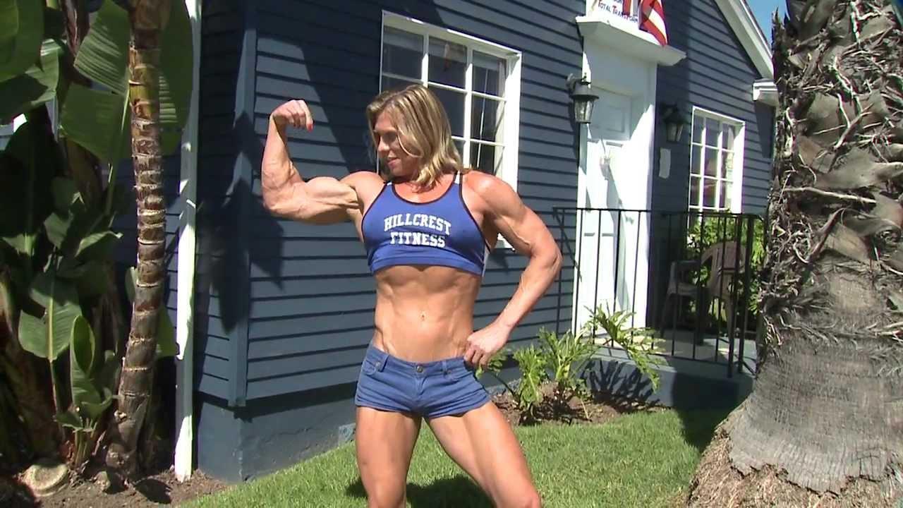 Chris Bruce Transgender bodybuilder - YouTube