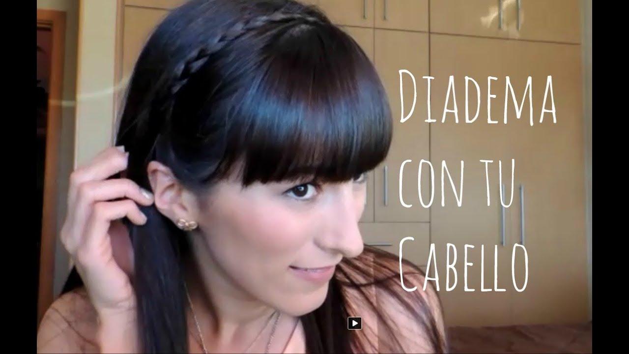 Diadema Con tu Propio Cabello Tutorial Peinado YouTube