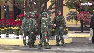 Xe bọc thép xuất hiện ở Đồng Đăng, an ninh nghiêm ngặt