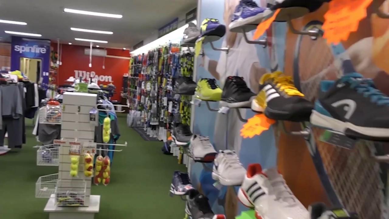 Tennis Warehouse Australia - Tour our store