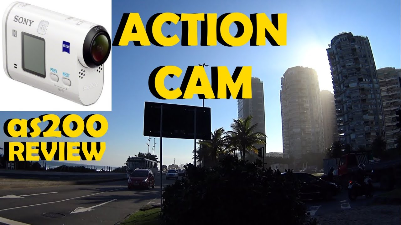 sony action cam hdr as200 unboxing review br youtube. Black Bedroom Furniture Sets. Home Design Ideas