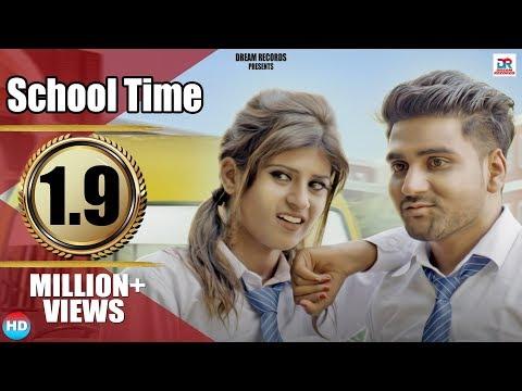 School Time | Raj Mawer, Andy Dahiya | Himanshi Goswami, Tarun Pal | New Haryanvi Songs 2018