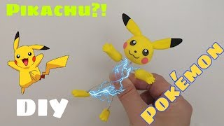 Sculpting Pokemon Pikachu DIY Clay art