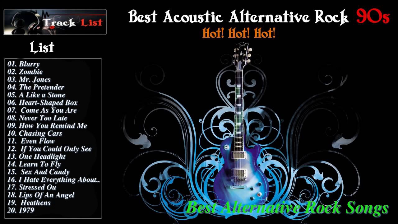 Best Acoustic Alternative Rock 90S