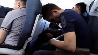 Русские туристы в самолете! Коры! Смотреть всем!