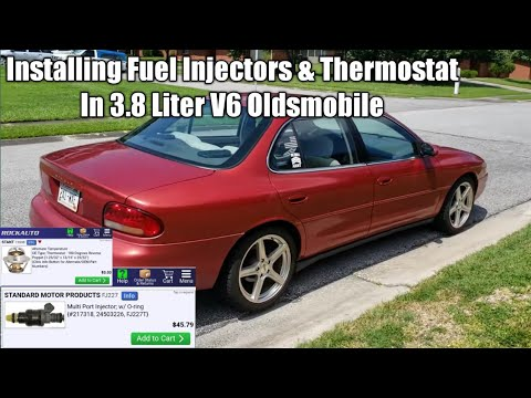 Installing Fuel Injectors And Thermostat in 3.8 Liter V6 Oldsmobile