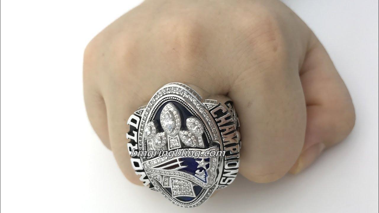 Super Bowl Rings Patriots