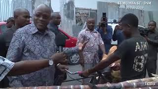 Download Video Haijawahi kutokea Raisi Magufuli kama kim jong un, atinga mtaani kununu Madafu MP3 3GP MP4