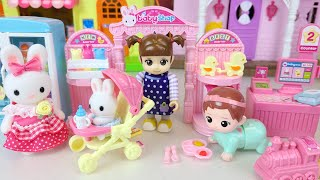 Baby doll stroller and baby st…