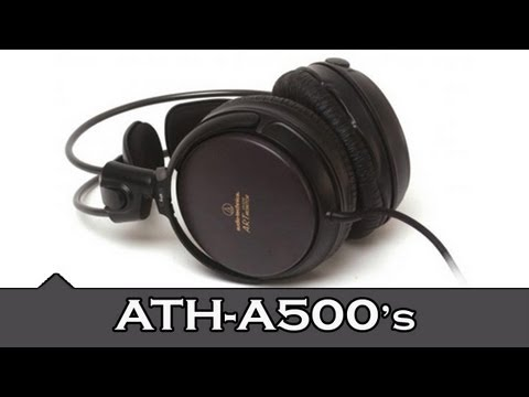 Audio Technica ATH-A500 Headphones | Unboxing