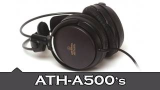 Audio Technica ATH-A500 Headphones | Unboxing