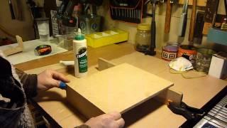 Plastic Wrap, Tin Foil. Zip Lock Organizer  (wood Working)