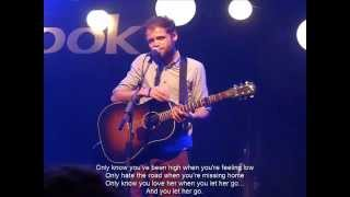 Passenger  Let Her Go mp4 With Lyrics INSTRUMENTAL