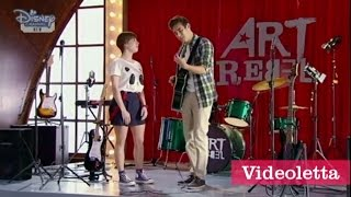 """Violetta 3 English: Vilu sees Gery and Leon singing """"Find more tears"""" Ep.10"""