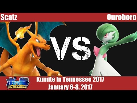 KiT17 - Scatz (Charizard) vs Ouroboro (Gardevoir)  - Pokken Tournament