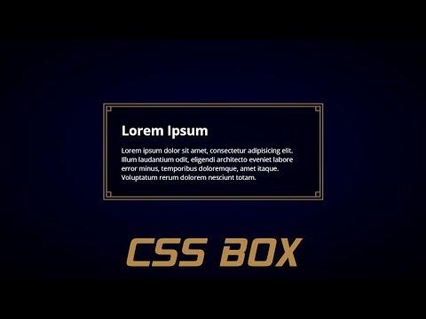 Css Border Box   css tutorial 2019   Web Development thumbnail