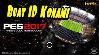 Cara membuat ID Konami Pes 2017 Android