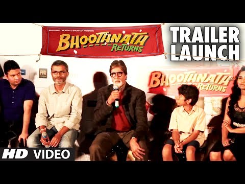 Bhoothnath Returns Trailer Launch  | Amitabh Bachchan, Nitesh Tiwari Travel Video