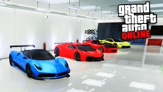 LE GARAGE DE L'EX TRICHEUR - GTA 5 ONLINE