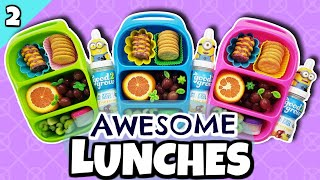 FUN Lunch Ideas For Kids! 🍎 What I Feed My Kids