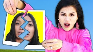 Vy and Regina are Mad! Best Friends Spending 24 Hours in a Spy Ninjas Battle Royale Challenge