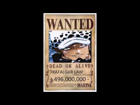one piece wanted posters 2014