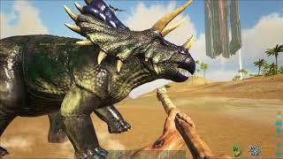 Первый день - Выживание в мире Динозавров АРК #10
