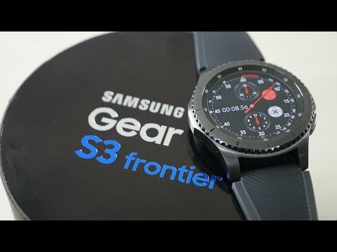 Samsung Gear S3 Frontier Unboxing & Overview