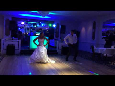 1st dance at Saunton Sands Hotel, Devon