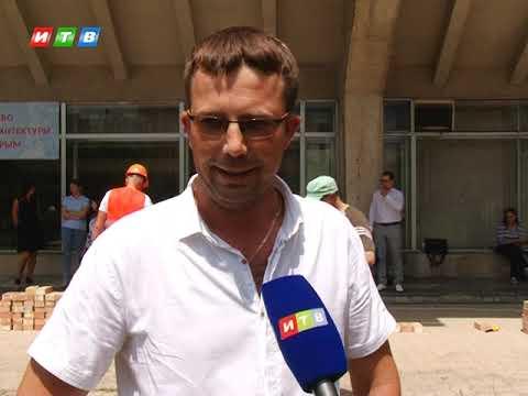ТРК ИТВ: В Симферополе соревновались лучшие каменщики