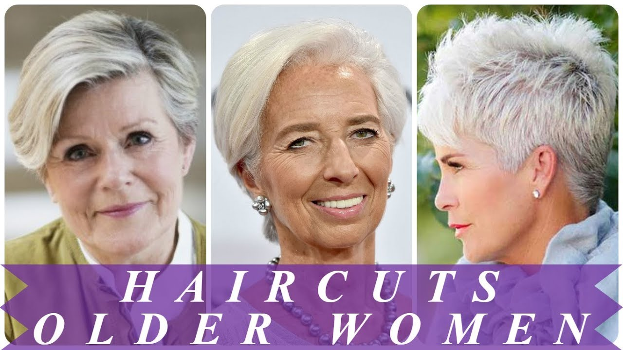 18 Hottest Ideas For Best Haircuts For Older Women 2018 Youtube