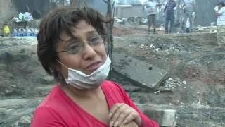 Video: Así quedó Santa Olga, pueblo devastado tras los incendios en Chile