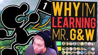 Why Picking up G&W is a Great Idea! | Learning Mr. Game & Watch w/ Leffen