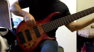 """Bad Salad - """"the Second Calling"""" Bass Solo Practice - Uncivilized - Felipe Campos"""