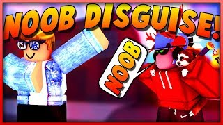 NOOB DISGUISE TROLLING #8 IN SUPER POWER TRAINING SIMULATOR! (ROBLOX)