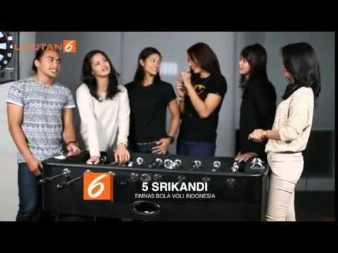 5 Srikandi Timnas Voli Indonesia   NEWS on Vidio