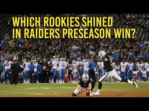 Raiders preseason win hints at new schemes, young talent