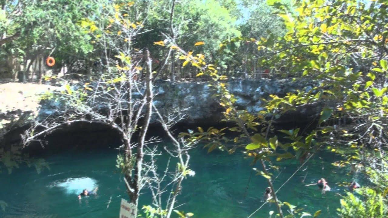 Jardin del eden cenotes quintana roo youtube for Jardin del eden