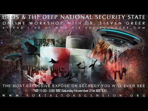 Detailed Expose of Secret Government, UFOs, & other operations- Dr. Steven Greer part 1