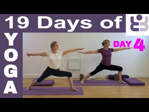 19 Days of Yoga - Day 4. Iyengar Yoga Sequence