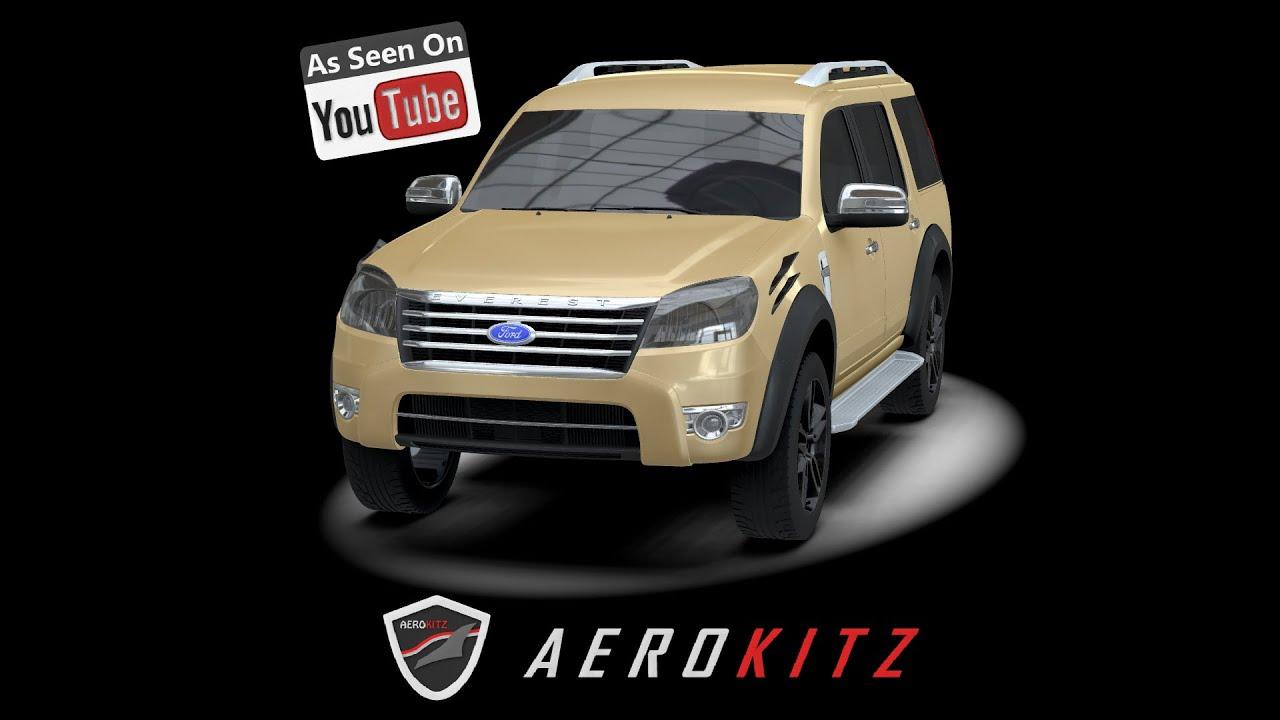 Aerokitz aksesoris modifikasi ford everest vintage style