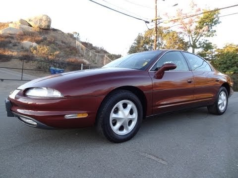 1997 Oldsmobile Aurora Sport Sedan 4 0l Cadillac V8 Walkaround Test Drive 68 000 Miles Review