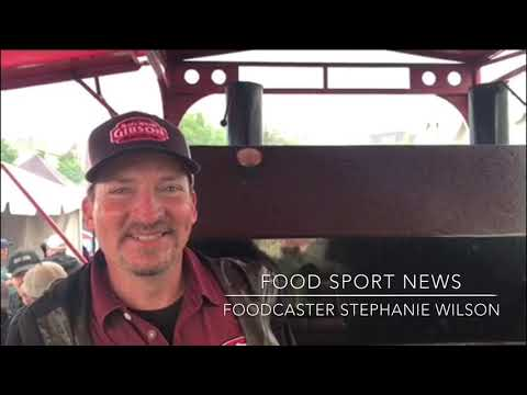 Food Sport News Foodcaster Stephanie Wilson Live at Memphis in May 2018