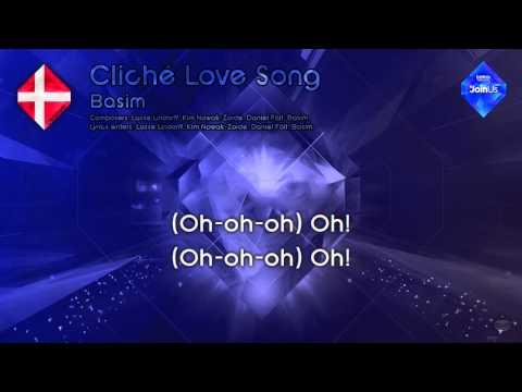 Basim Cliché Love Song Denmark Karaoke version