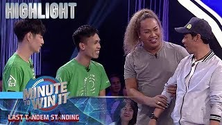 Negi, sinubukang isangla si Long sa tandem players | Minute To Win It