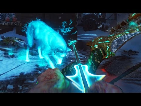 "Black Ops 3 ZOMBIES ""DER EISENDRACHE"" - WOLF UPGRADED BOW GUIDE! Wrath Of The Ancients Upgrade!"