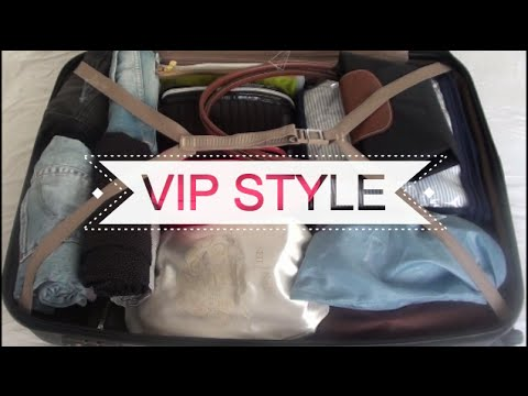 VIP Cabin Crew/Flight Attendant Packing Video