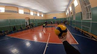 Волейбол от первого лица Александра | 6vs6 | VOLLEYBALL FIRST PERSON | Like Haikyuu | 29 episode