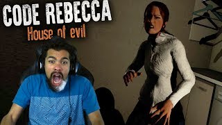 MY WIFE IS POSSESSED BY A DEMON!! | Code of Rebecca: House of Evil [ENDING]