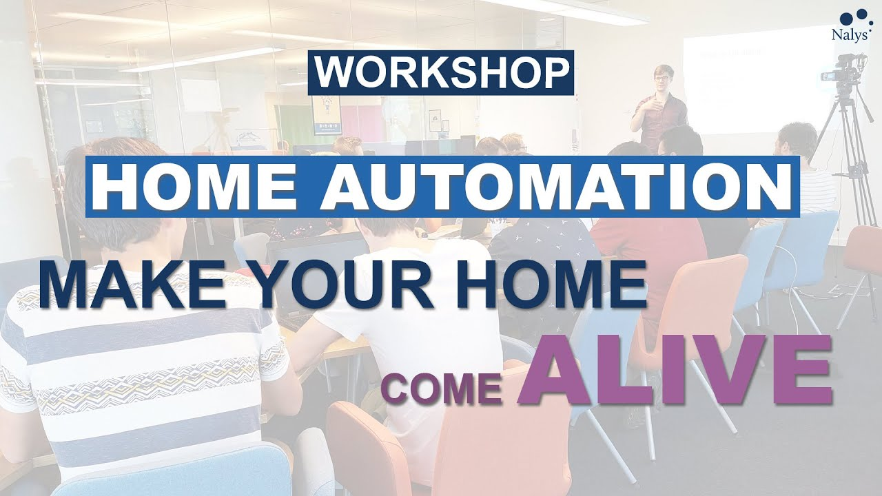 Home automation: Make your home come alive